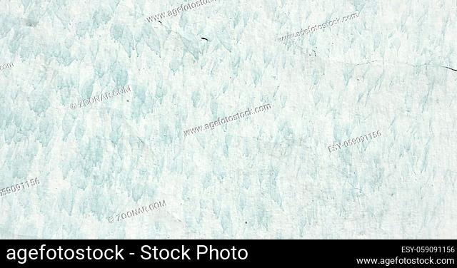 Grungy painted wall texture as background. Cracked concrete vintage floor, old white painted. Background washed painting