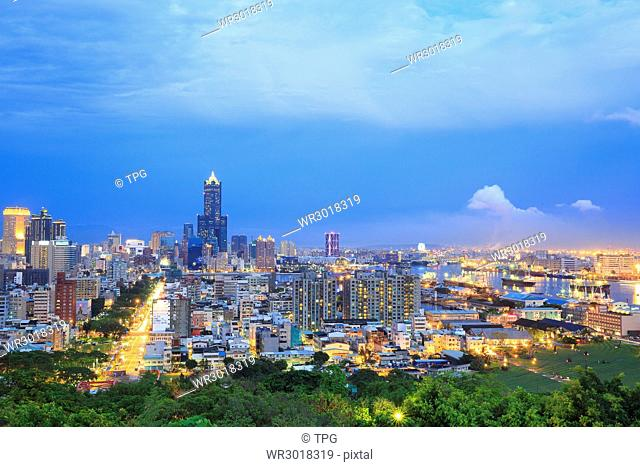 Kaohsiung,85 building,night