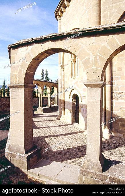 Santa María church. Eunate, Navarra, Spain