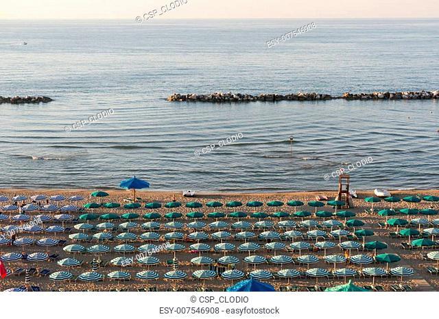Termoli (Campobasso, Molise, Italy) - The beach at evening