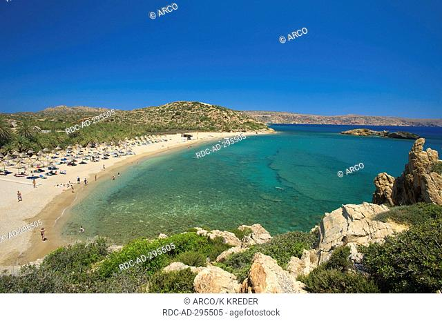 Palm Beach Vai, Crete, Greece