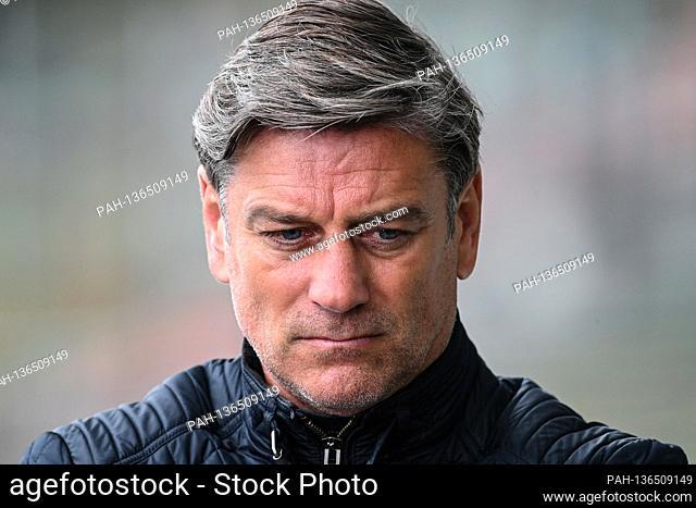 Sports director Oliver Kreuzer (KSC). GES / Football / 2nd Bundesliga: Karlsruher SC - SV Sandhausen, 10/17/2020 Football / Soccer: 2nd German League: Karlsruhe...
