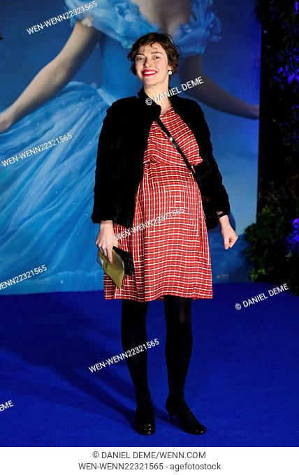 Cinderella - UK film premiere held at the Odeon Leicester Square. Featuring: Camilla Rutherford Where: London, United Kingdom When: 19 Mar 2015 Credit: Daniel...