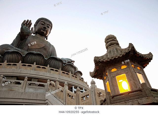 Asia, China, Hong Kong, Lantau, Buddha, Statue, Giant Buddha, Buddha, Buddhism, Buddhist, Religion, Po Lin Monastery, Po Lin, Monastery, Statue, Statues