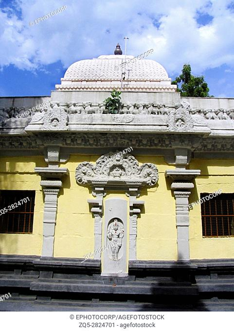 Guganathaswamy Temple. 1000 years old Kanyakumari, Tamil Nadu, India