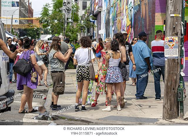Hipster williamsburg brooklyn Stock Photos and Images | age fotostock