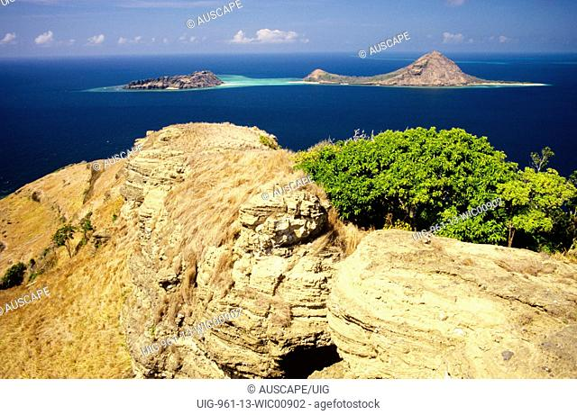 View from Mer or Murray Island, Torres Strait Islands, Queensland, Australia