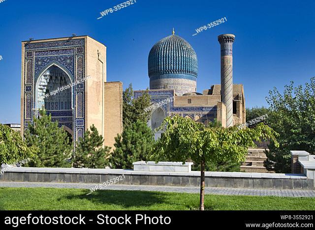 Uzbekistan - Samarkand - Guri Amir Mausoleum. Al descargar este Contenido Visual, aceptas las