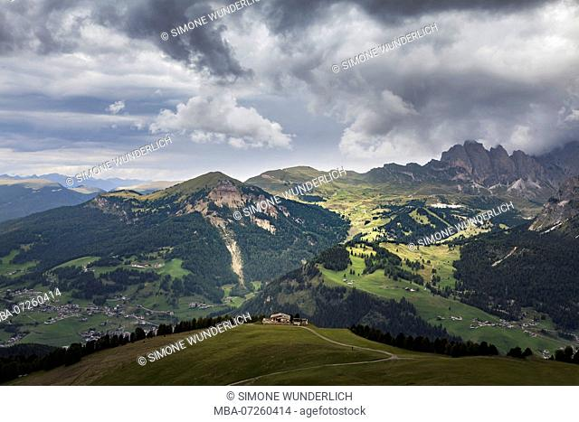 Mountain landscape in South Tyrol