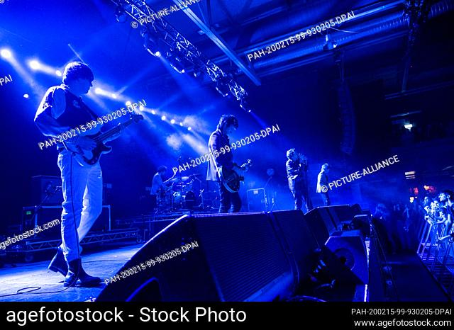 "14 February 2020, Berlin: The US rock band """"The Strokes"""" will play a concert in the Columbia Hall. After a seven-year break"