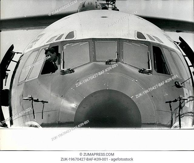 Apr. 27, 1967 - 27.4.67 At 19 He?¢'Ǩ'Ñ¢s Britain?¢'Ǩ'Ñ¢s Youngest Jetliner Pilot ?¢'Ǩ'Äú Stephen Radcliffe is only 19