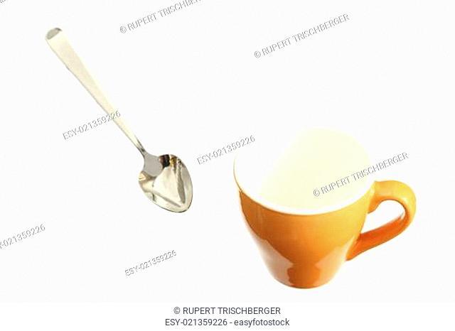 Löffel und Tasse