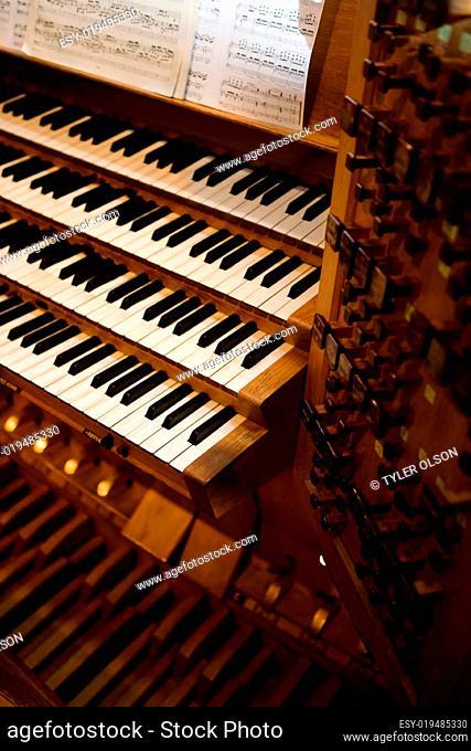Old Pipe Organ