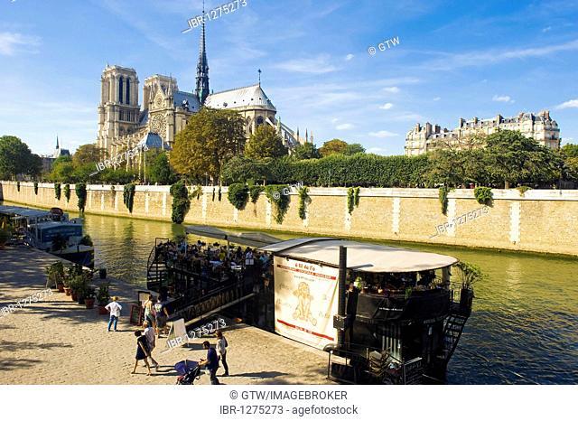 Notre-Dame of Paris Cathedral, Paris, France, Europe