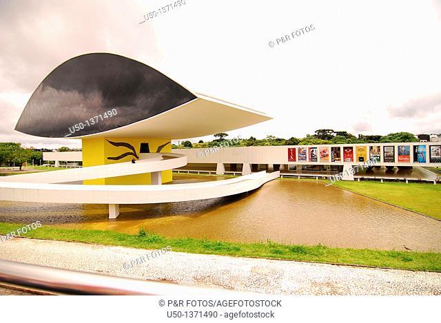 Museu Oscar Niemeyer, Curitiba, Paraná, Brazil, 2009