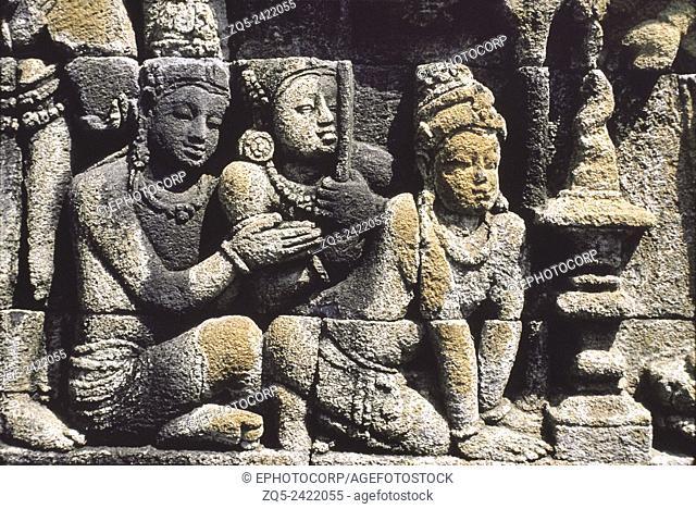 1st Gallery east upper 113. Borobudur, Indonesia