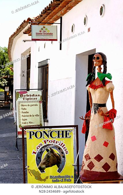 Typical bar, Comala, Colima, Mexico
