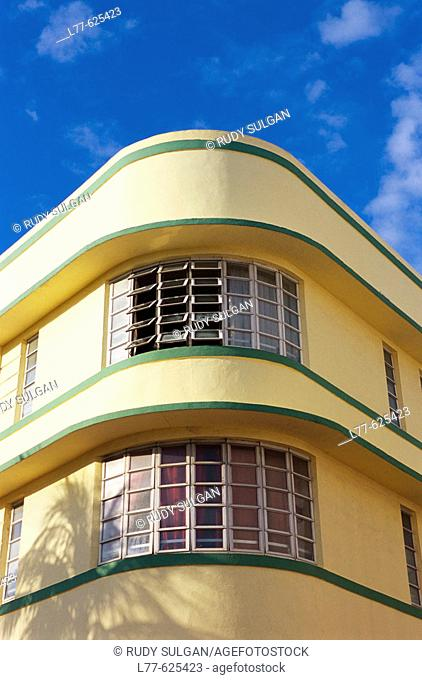 Art deco district, South Beach, Miami Beach. Florida, USA
