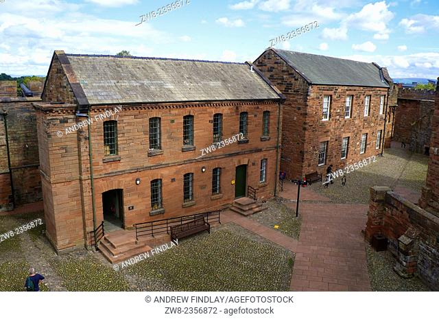 Museum of the Border Regiment. Carlisle Castle, Carlisle, Cumbria, England UK