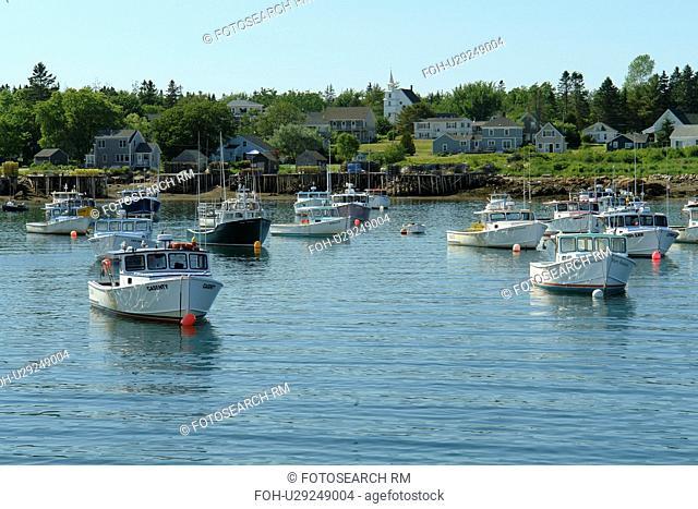Corea, ME, Maine, Schoodic Peninsula, fishing harbor