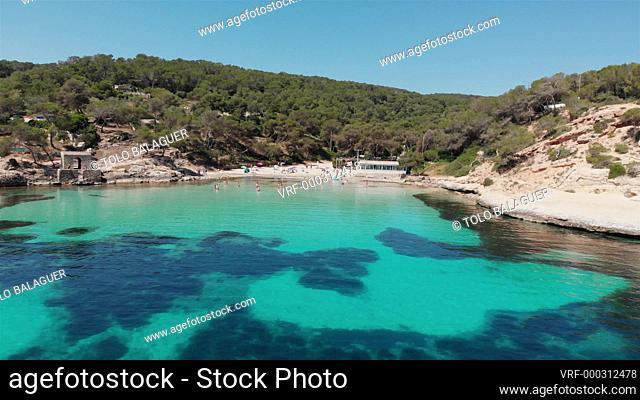 Cala Portals Vells, Calvia, Mallorca, Balearic Islands, Spain
