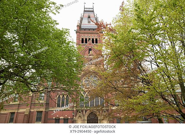 memorial hall harvard university Boston USA