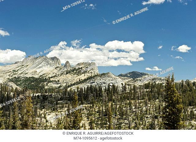 Echo peaks, Yosemite National Park, California, USA
