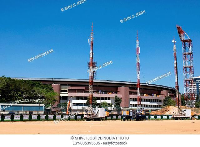 Chennai swami cricket stadium at bangalore , Karnataka , India