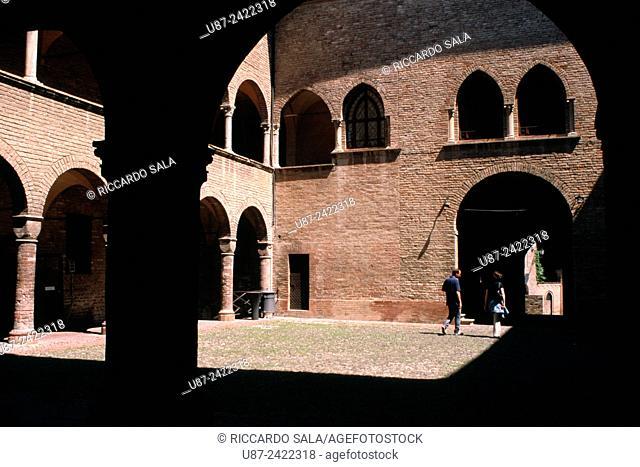 Italy, Emilia Romagna, Fontanellato, Rocca Sanvitale, Castle