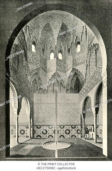 'Hall of the Abencerrages', 19th century, (1907). Creator: Unknown