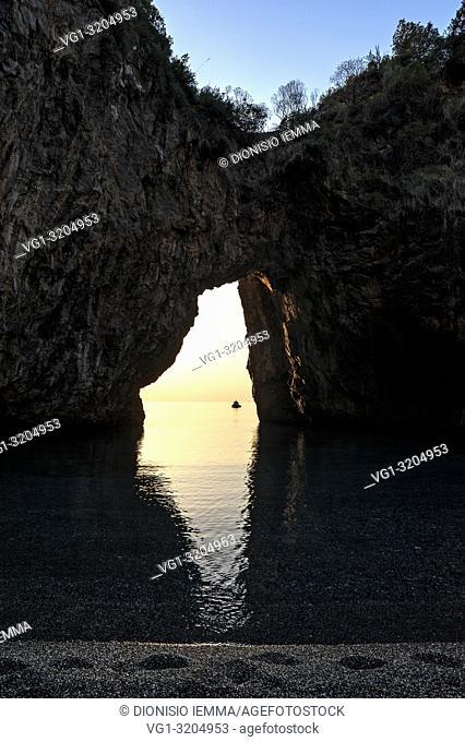 San Nicola Arcella, district of Cosenza, Calabria, Italy, Europe, Arco Magno