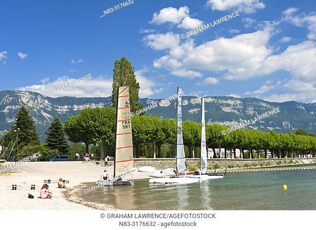 Lac du Bourget, Savoie, France, Europe