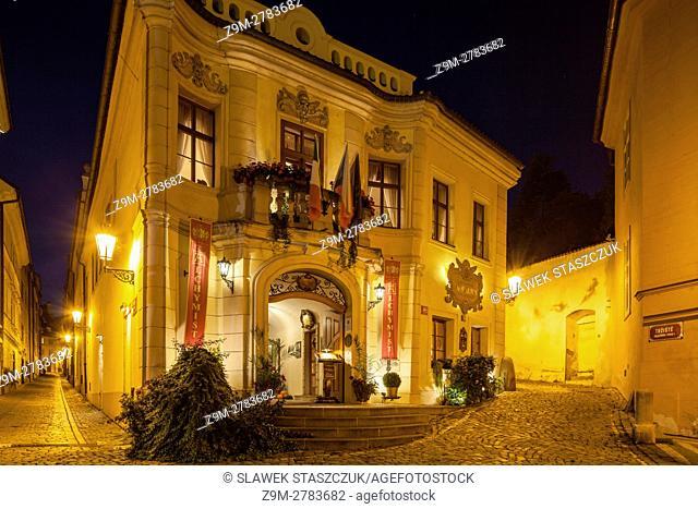 A hotel in Mala Strana, Prague, Czech Republic
