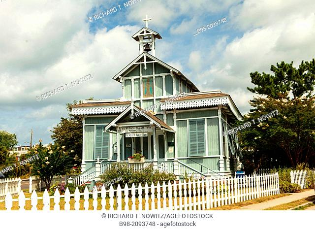 Saint Peter's By the Sea Catholic Church, built in Victorian style