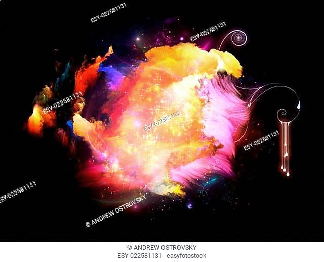 Unfolding of Design Nebulae