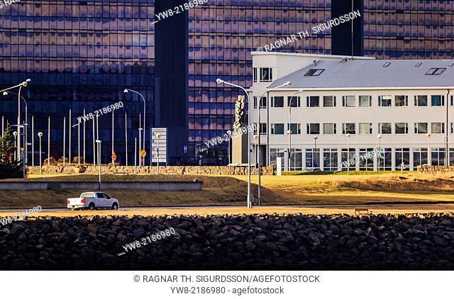 Buildings in Reykjavik, Iceland