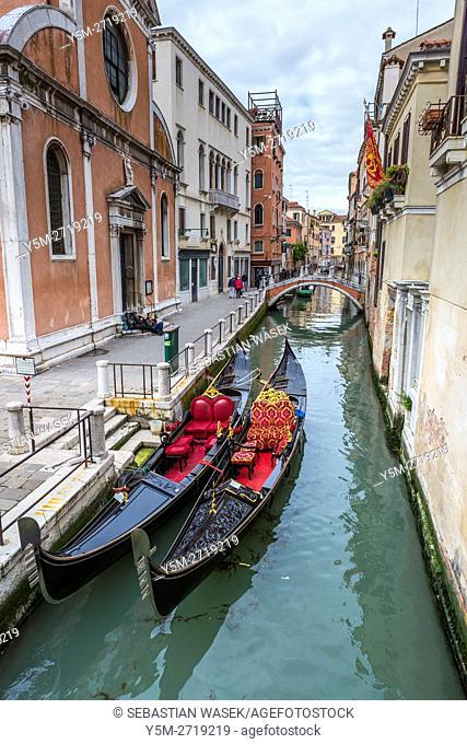 Rio di san Falice, Venice, Veneto, Italy, Europe