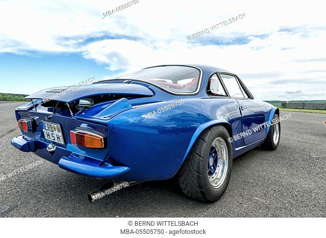 Michelstadt, Hesse, Germany, Renault Alpine A 110 SX, blue, built in 1976, 95 hp, engine capacity 1647ccm