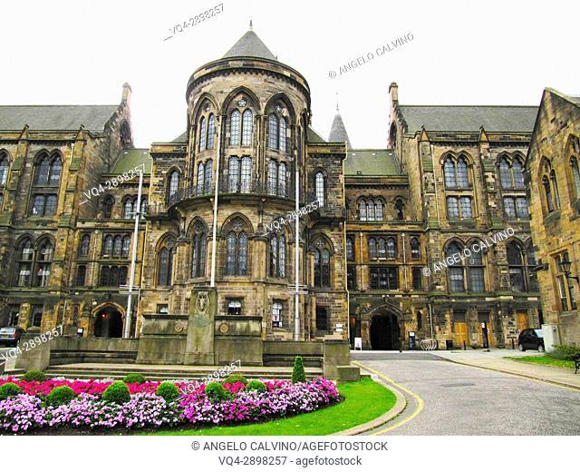 Glasgow University, Scotland, Europe