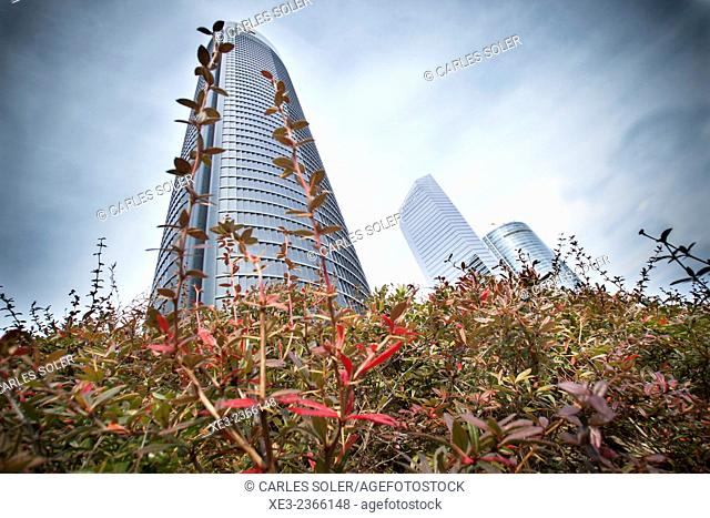 Torre PwC. Cuatro Torres Business Area (Four Towers Business Area). Paseo de la Castellana. Madrid. Spain