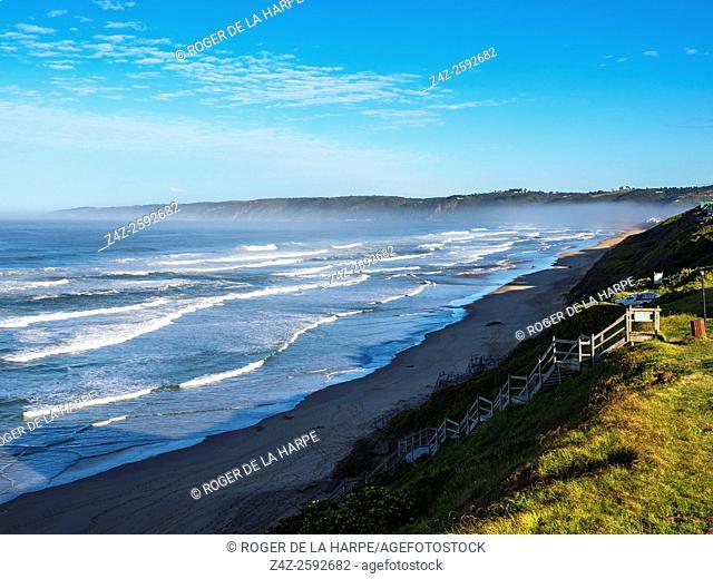 Beach scene. Wilderness. Garden Route. Western Cape. South Africa