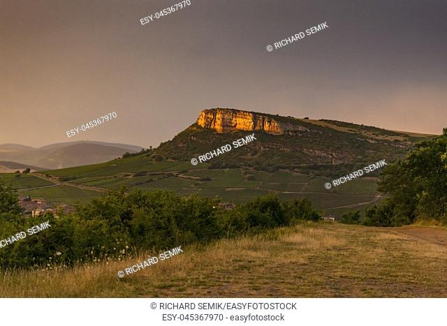 Vergisson Rock, Burgundy, France