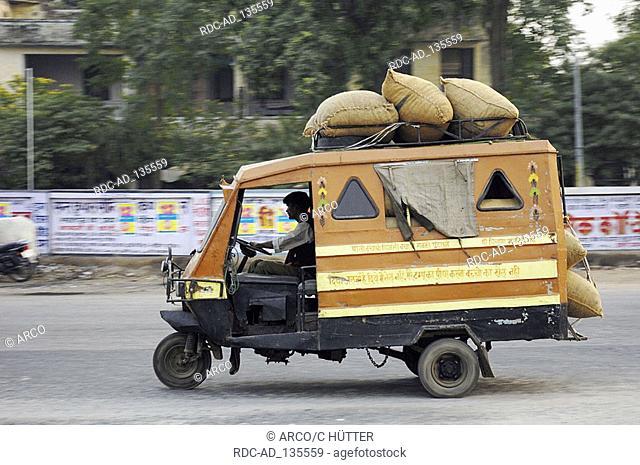 Auto rickshaw Bharatpur Rajasthan India