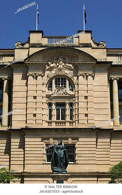 Australia, Queensland, Brisbane, Queens Gardens & Old Executive Building now The Conrad Hotel
