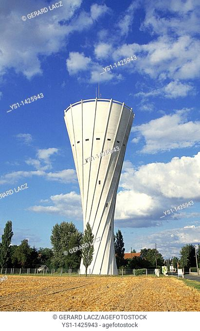 WATER TOWER, ESSARTS LE ROI VILLAGE, FRANCE