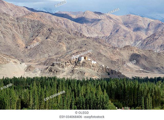 Matho Monastery is a Buddhist monastery in Ladakh, India