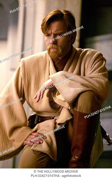 Ewan McGregor plays Obi-Wan Kenobi in Star Wars: Episode III Revenge of the Sith. TM & © 2005 Lucasfilm Ltd. All Rights Reserved
