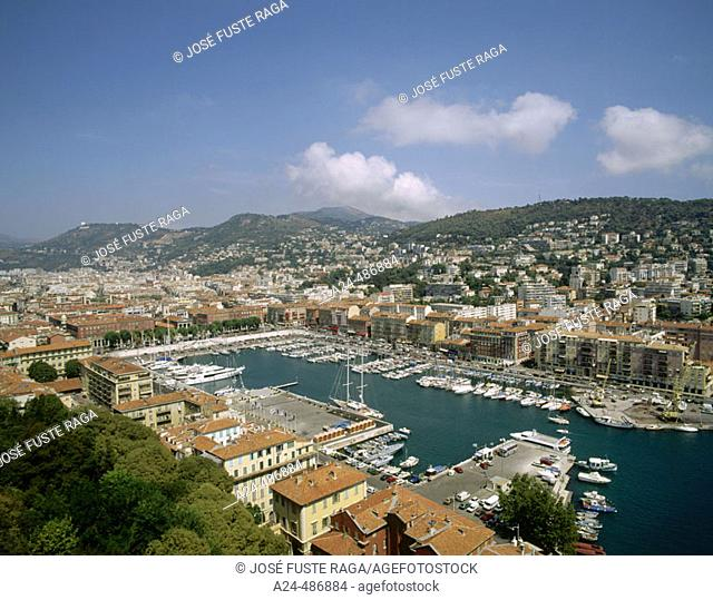 Old Harbour. Nice, French Riviera. France