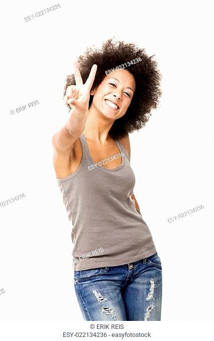 Optimistc woman