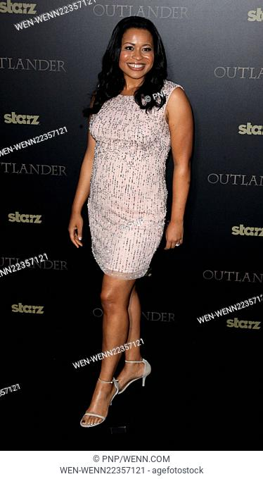 Mid-season New York premiere of 'Outlander' at Ziegfeld Theater - Red Carpet Arrivals Featuring: Courtney Kemp Agboh Where: New York City